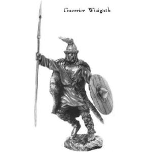 Figurine d'un guerrier wisigoth en bronze, Musée Galerie, Boutique des musées, Nancy (54)